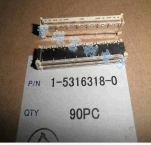 1PCS 1-5316318-0  Imported 140P 0.6MM 11.2H male 1 207532 0[headers