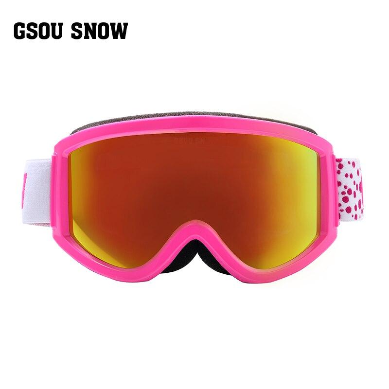 Gsou winter outdoor ski goggles