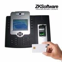 Iclock880 RS232 / 485 tcp / ip USB empreintes digitales fréquentation à temps et access controller avec batterie lecteur de carte RFID