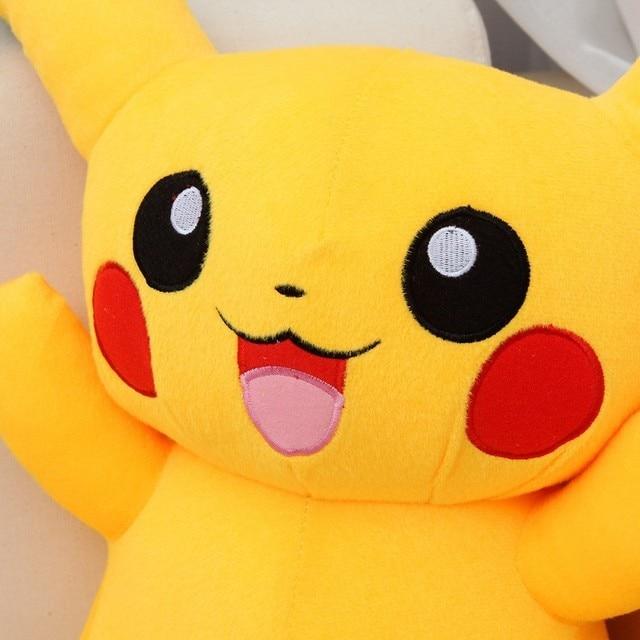 "1 PCS Yellow Giant Pikachu Plush Cute Pikachu Plush Toys 58cm Poke mon Plush Stuffed Animals Soft Toys With ""I LOVE YOU"" Sound"