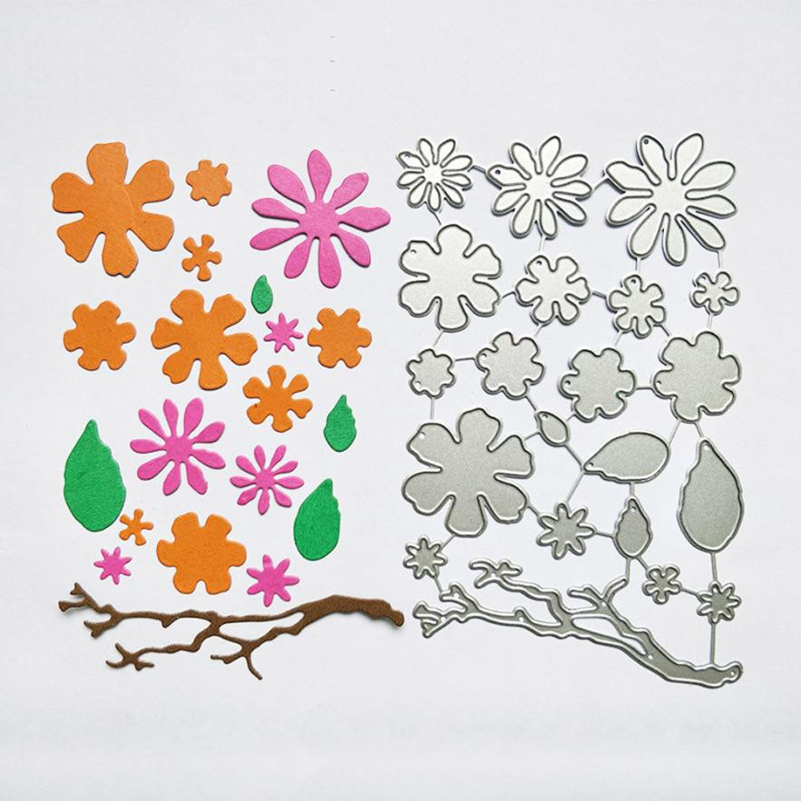 Metal cutting dies for scrapbooking frame flower christmas Stencil DIY embossing folders Album Paper Album Paper Card Craft 2017