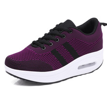 New Style Casual Shake Shoes Women Walking Shoes Summer Fashion Sport Women black and white Fitness Shoes new arrival new women fashion mesh breathable korean style shake casual fitness hollow shoes