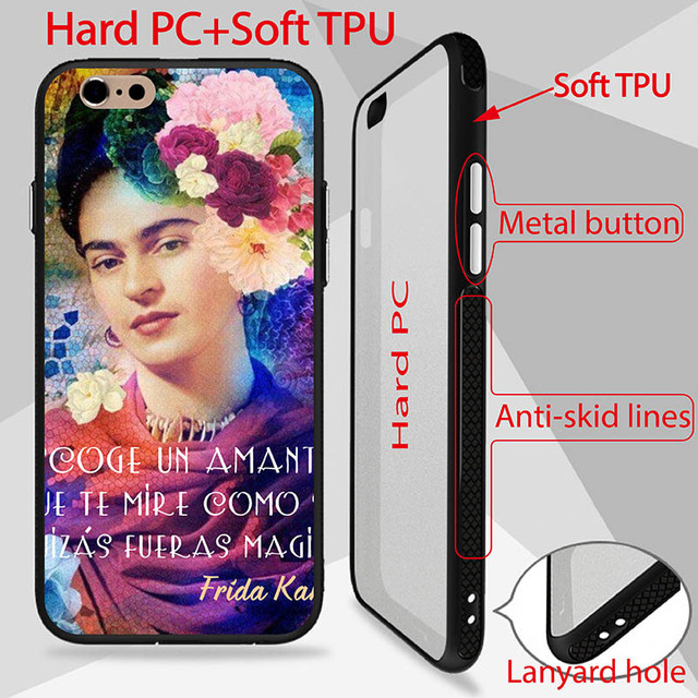 Frase Amor Frida Kahlo Patterned Case For Iphone 6s Cover High