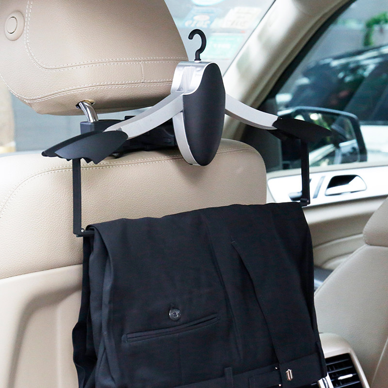 Image 5 - E FOUR Car Coat Hanger with Backseat Storage Hook for all kinds of Clothes Jackets Suits Handbags Purses Coats and Grocery Bags-in Car Coat Hanger from Automobiles & Motorcycles