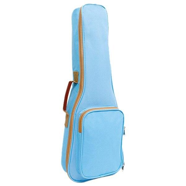 Fashion Waterproof Ukulele Bag Case Backpack Ukelele Guitar Accessories Blue 26/27 inch - 75*28cm