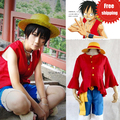 Hot Anime One Piece Costumes Adults Monkey D Luffy Cosplay Costume Sets Costumes For Unisex