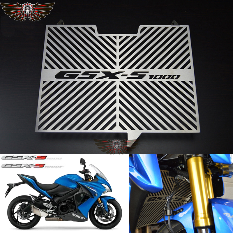 New Motorbike Radiator Grille Grills Guard Cover Protector for SUZUKI GSX-S1000 2015 GSX-S1000F 2015 2016 2017 GSX S 1000 F car front bumper mesh grille around trim racing grills 2013 2016 for ford ecosport quality stainless steel