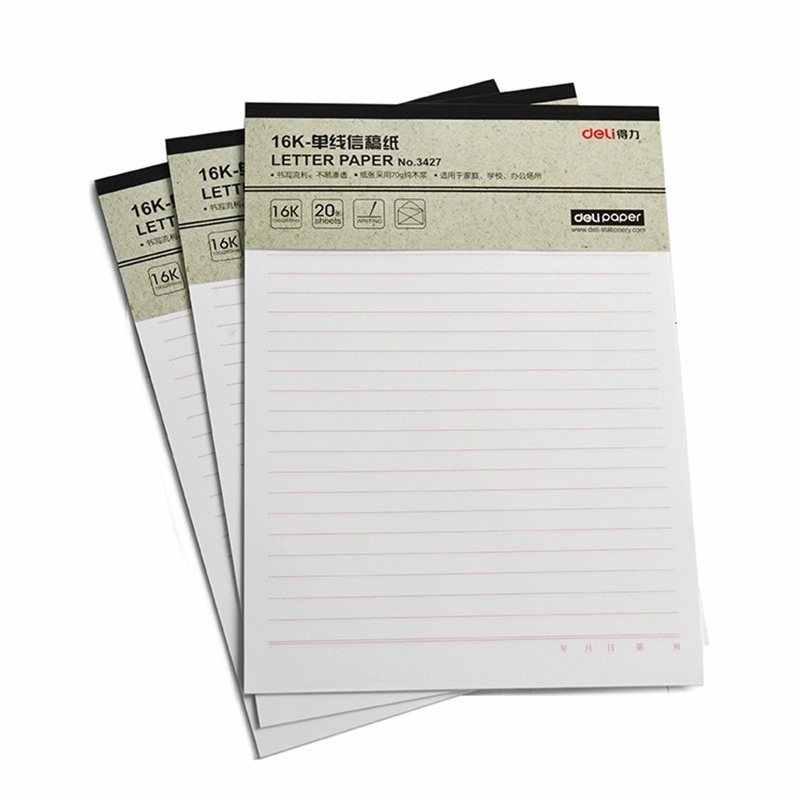 ورق كتابة بالحروف 3427 خيط واحد 16 فتح 20 علامة على هذه الرسالة القرطاسية بالجملة ورقة مسودة الورق أوراق المذكرة Aliexpress