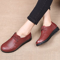 Дизайнерская Женская обувь на плоской подошве, обувь из натуральной кожи, женские лоферы без шнуровки, Нескользящие Мокасины, zapatillas mujer, пов...