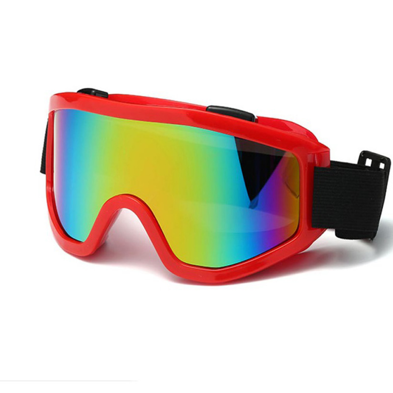 Winter Outdoor Windproof UV400 Skiing Glasses Dustproof Snow Can Built-in Myopia Lens Spone Ski Goggles Multiple Colors