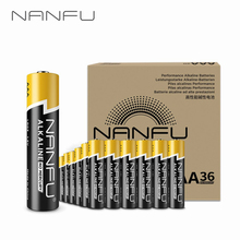 NANFU 36 Pcs/Set AAA Batteries LR03 Alkaline Battery 1.5v for Clocks Remote Game Controller Toys Electronic Device Mouse[RU]
