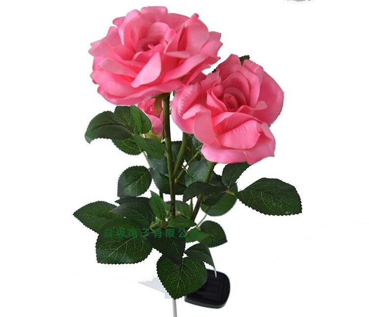 Lover's Evige Rose Creative Valentinsdag håndværk Fødselsdag bryllup dekoration Led Solar Lamper haven sol dekoration romantisk