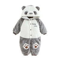 A newborn baby boy will wear a baby in the fall and winter for 6 months and 9 months in addition to a cotton winter coat