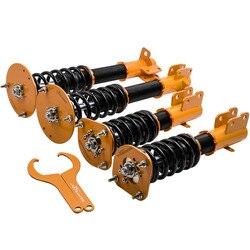 Regulowany wysokość zestaw sprężyn gwintowych dla CHRYSLER NEON SRT-4 00-05 Coilovers amortyzator
