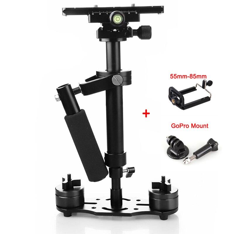 bilder für Professionelle s-40 + plus 0,4 mt handheld stabilisator steadicam für canon 60d 70d 650d 600d 700d kamera video dv dslr
