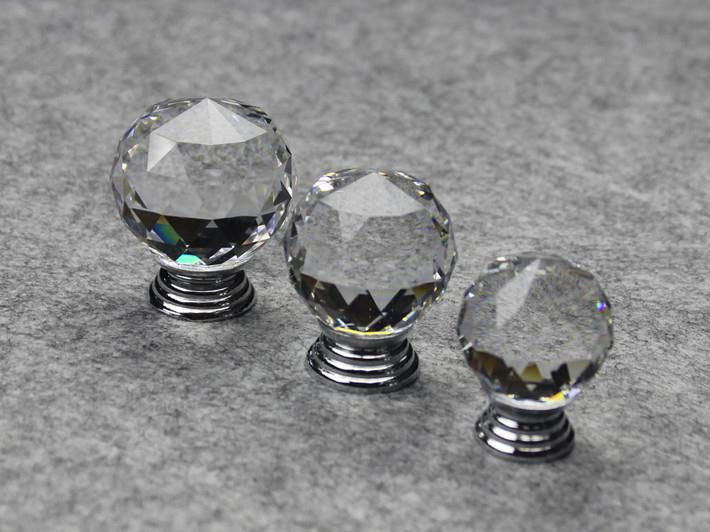 Beau 30PCS Furniture Fittings K9 Clear Crystal Glass Cabinet Drawer Knobs Door  Handle (Diameter: 30MM) In Cabinet Pulls From Home Improvement On  Aliexpress.com ...