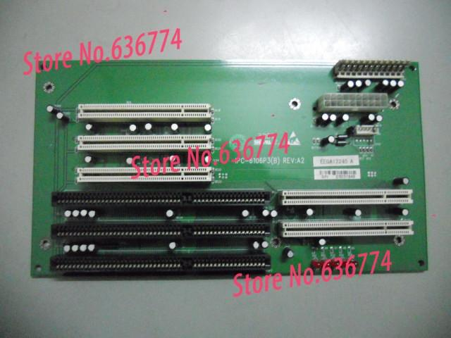 IPC motherboard IPC-6106P3 Support AT/ATX Power Supply