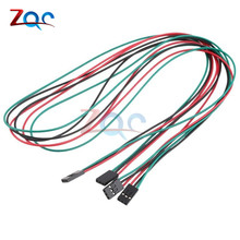 5PCS 70cm 3Pin Female to Female Jumper Wire Dupont Cables for Arduino 3D Printer Reprap