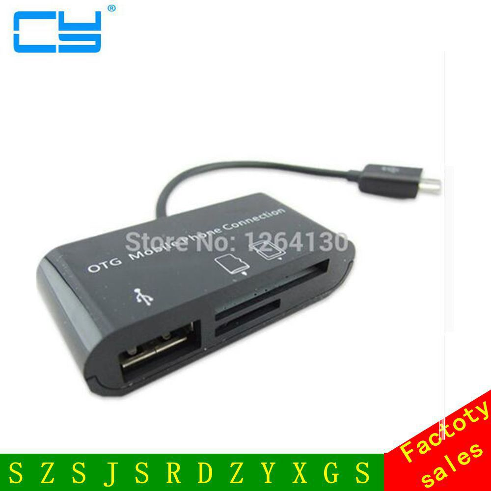 USB OTG Host Adapter+SD Card Reader for Samsung Nexus 10 Galaxy Note 8.0 Tab 3