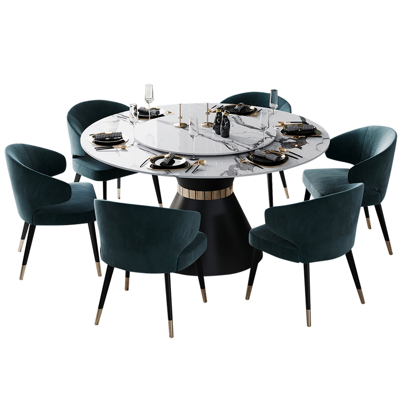 Stainless Steel Dining Room Set Home Furniture Minimalist Modern Marble Dining Table And 6 Chairs Mesa De Jantar Muebles Comedor Dining Room Sets Aliexpress