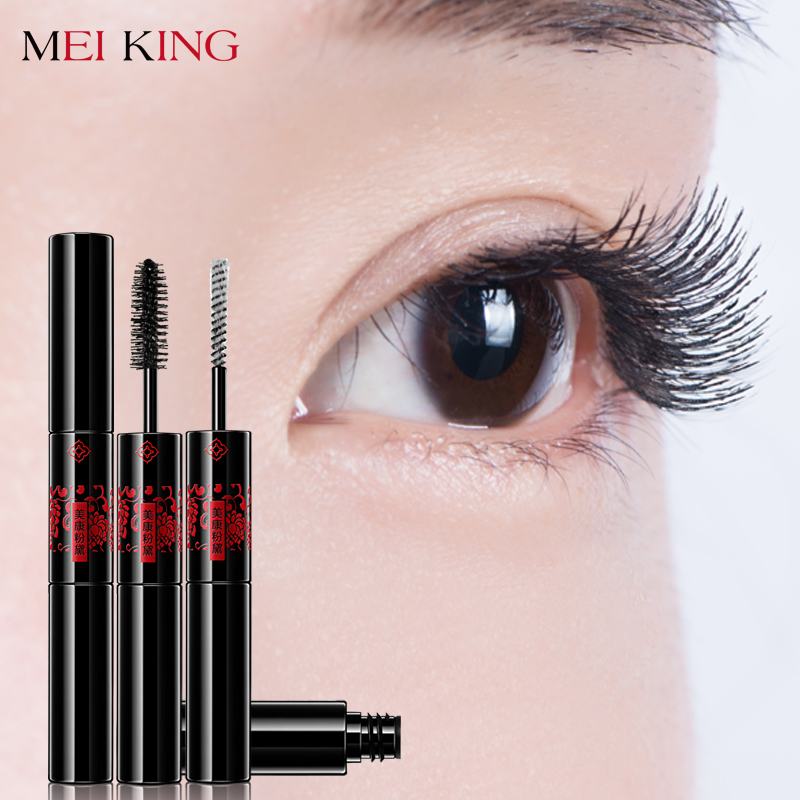 MEIKING Makeup Mascara Long Black Lash Mascara Volume Lengthening Twisting Eyelashes Extension Quick Dry Waterproof Cosmetics 3D цена