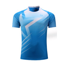 Men soccer jerseys badminton shirts table tennis polo T shirts tennis clothes sport football jersey running shirts customized(China)