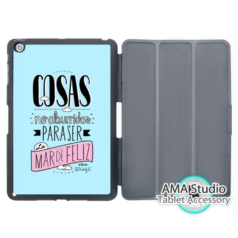 COSAS Mr Wonderful Mint Case For Apple iPad Mini 1 2 3 4 Air Pro 9.7 Stand Smart Folio Cover