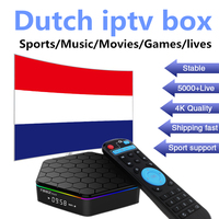 Dutch Netherlands Europe Iptv For T95Zplus Android Tv Box 7 1 3G 32G Amolgic S912 Support