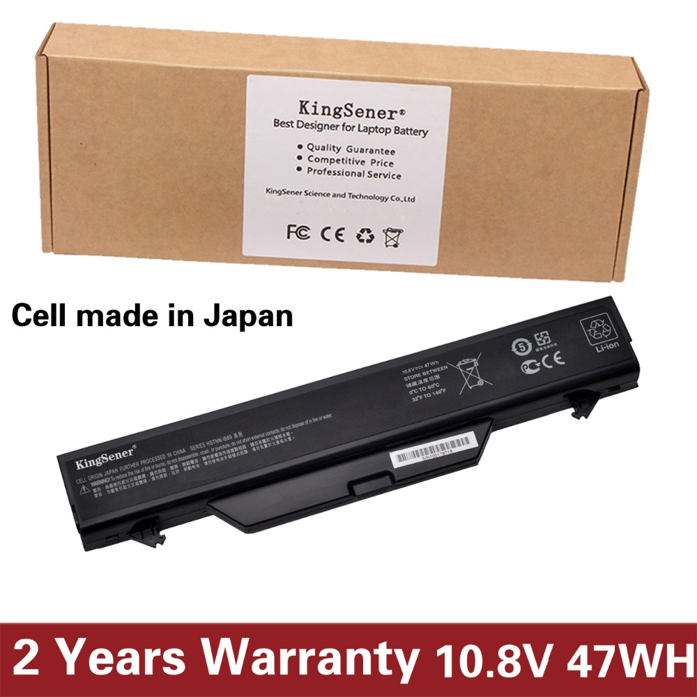 KingSener Japanese Cell Battery For HP ProBook 4510S 4515S 4710S 4720S HSTNN-IB89 HSTNN-OB89 HSTNN-XB89 593576-001 HSTNN-IB1D цена и фото