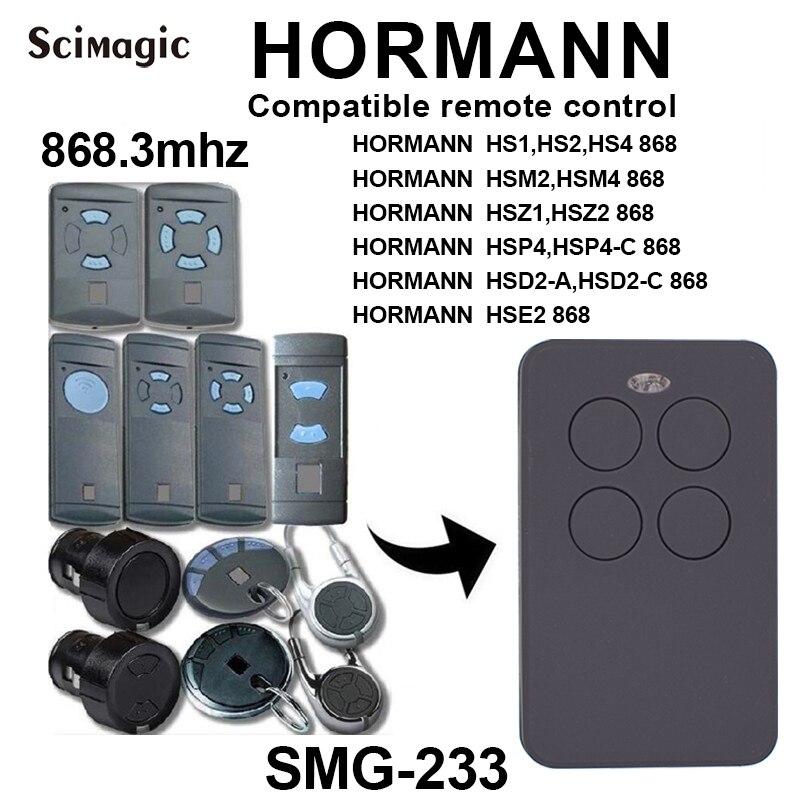 Klonen Hormann Hsm2 Garage Tür Tor Fernbedienung Ersatz 868 Mhz Fob Hsm4