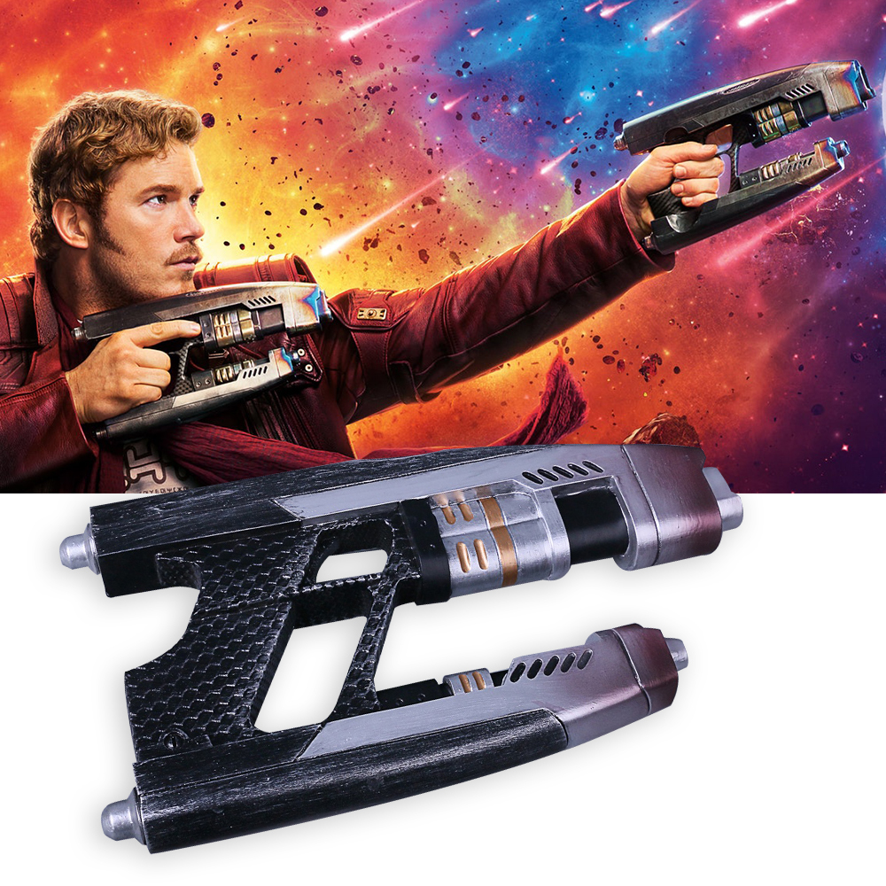 Devoted A Pair Guns Cosplay Avengers Infinity War Star Lord Gun Weapon A Pair Handmade Props Adult Halloween Party Prop Costume Props