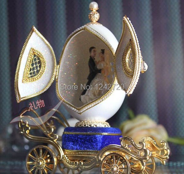 Яйце музикална кутия творчески - Декор за дома - Снимка 2