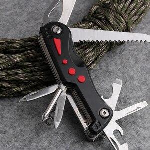 Image 4 - 185g couteau pliant de survie suisse de qualité Navajas Canivete armée couteau de Camping en plein air multi outils Ferramentas