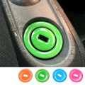 Key Lock Keyhole For Mercedes Benz Smart Fortwo Glue Lgnition Decoration Ring Decorative Stickers 2pcs per set car styling