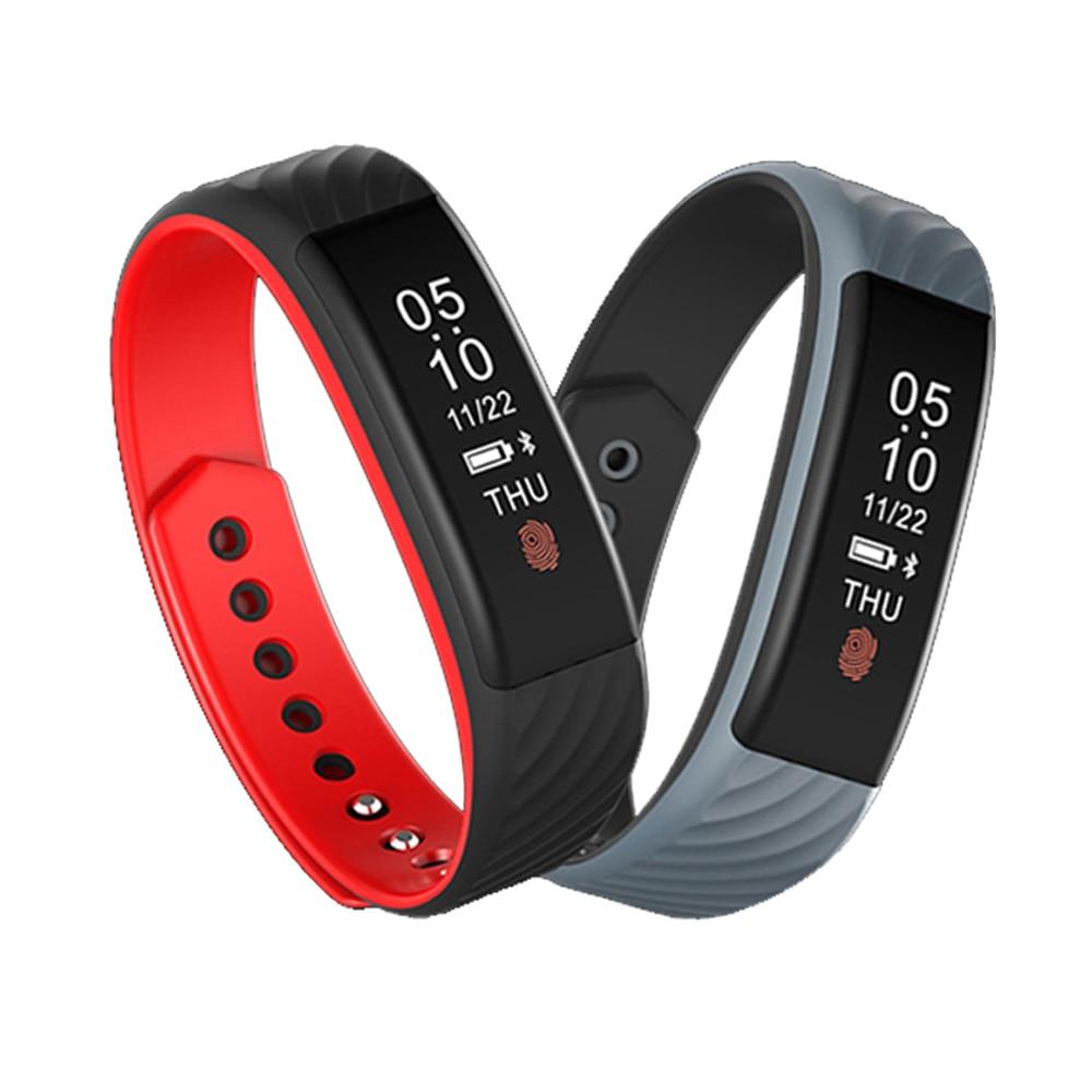 2017 New W810 Smart Wristband Heart Rate Monitor 0 87 OLED Display Smart Band IP67 Waterproof