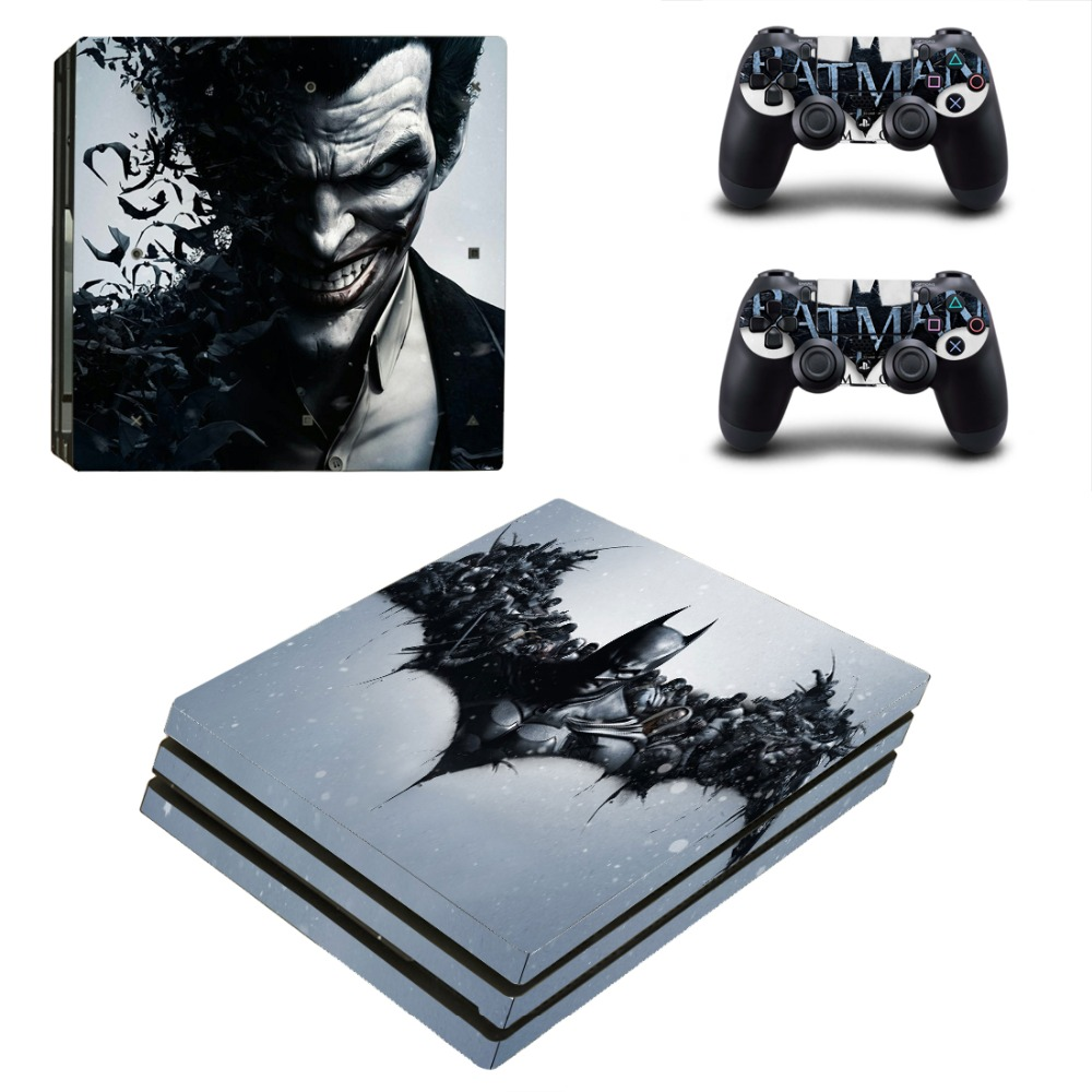 PS4 Pro Batman Skin Sticker Cover For Sony Playstation 4 Console&Controllers