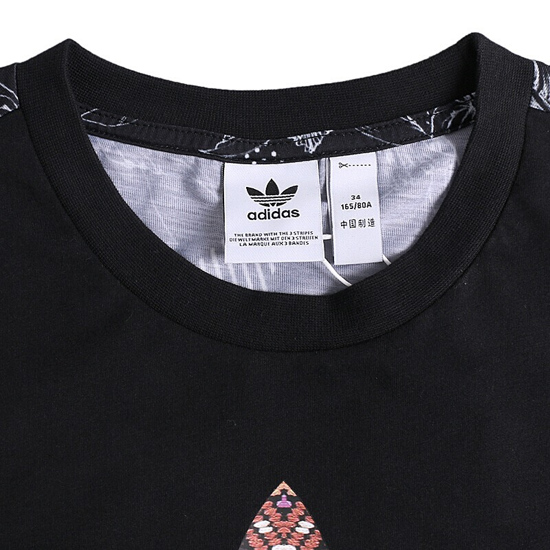 96c84d33dec9e Original New Arrival 2018 Adidas Originals FARM TREFOIL Women's T shirts  short sleeve Sportswear-in Running T-Shirts from Sports & Entertainment on  ...