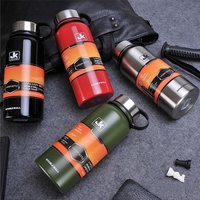 Large Capacity Space Stainless Steel Double Wall Vacuum Flask Coffee Travel Tumbler Water Bottle Insulated Thermos