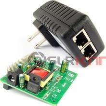 DSLRKIT Gigabit Raspberry Pi 4 4B 3B+ 3B Plus 5V 12V Dual Output PoE Kit (HAT+ Injector)