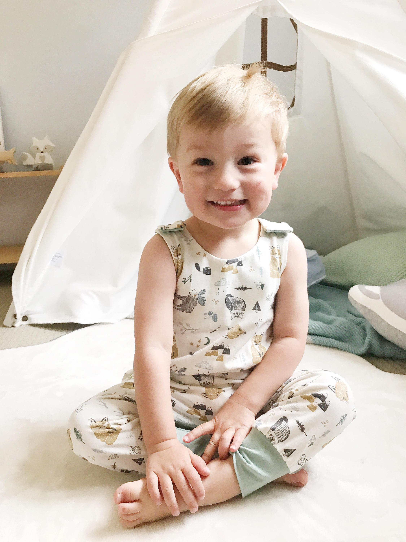 1-3Y Newborn Baby Boy Rompers Baby Clothes Cotton Newborn Clothes Summer Unisex Jumpsuit Infant Cute Fox Baby Playsuit Boy
