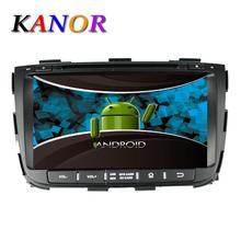 1024*600 del Androide 5.1 Quad Core 1.6G de DVD Del Coche Para KIA Sorento 2013 Sistema Multimedia de Navegación GPS Con Reproductor de Casetes WIFI mapa