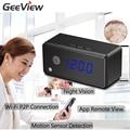 Smartphone live view mini cámara ip wifi cámara despertador infrad cámara de visión nocturna 720 p hd motion detection micro cámara