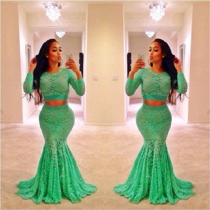 Piece Prom Dress Plus Size