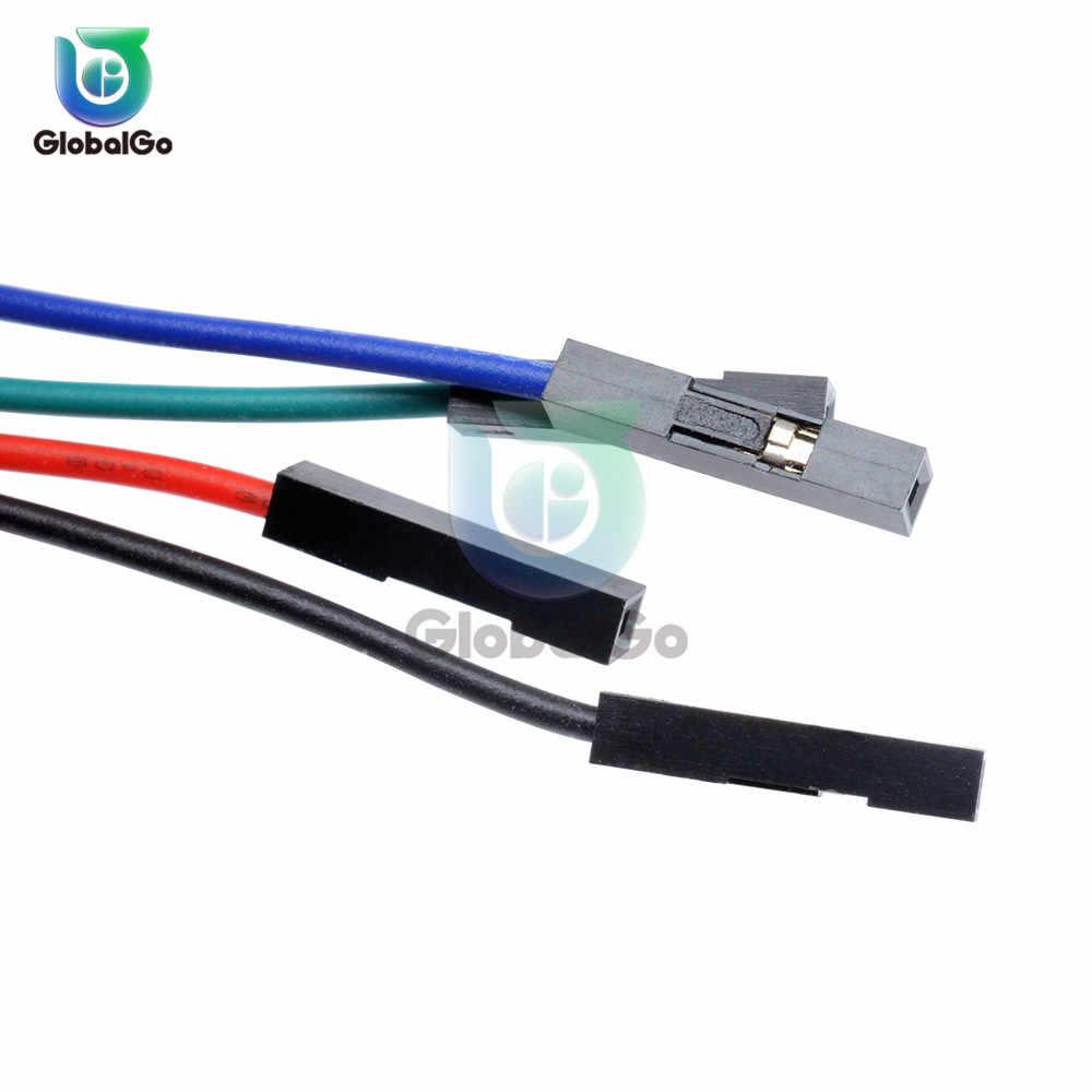 2PIN 3PIN 4PIN 70 CM linii Dupont kobieta do kobiet kabel mostkujący Dupont kabel kable złącze dla Arduino
