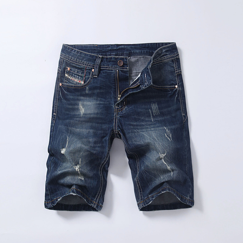 2018 Men Shorts Brand Summer Shorts Jeans Men ashion Designers Shorts Cotton Jeans Mens Slim Jeans Shorts Men Size 28-40