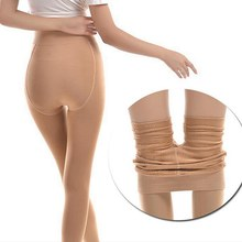 120d Thick Soft Fleece With Velvet Keep Warm Slimming Legs Pantyhoseanti Hook Add Crotch Pantyhosem L
