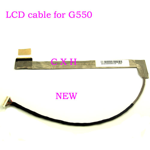 New LCD Screen Video Cable for IBM lenovo IDEAPAD  G455 G450 G450A G550 G550A G550L G550G G555 LCD Video Cable KIWA7 DC02000RH00