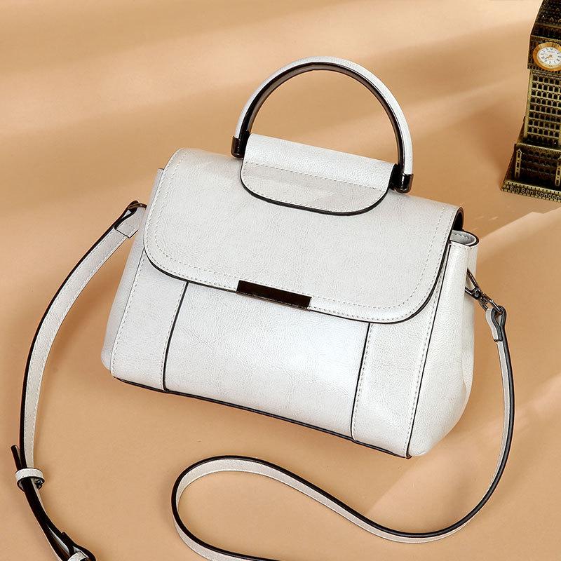 Hot Sales Women Handbags 100 Genuine Leather Bucket Handbags Real Cow Leather Ladies Shoulder crossbody Bags
