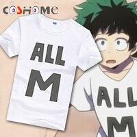 Cosworld Boku No Hero Academia T Shirt Short Sleeve Tee Shirt My Hero Academia Izuku Midoriya