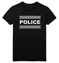 POLICE T Shirt Men Women Kids Fancy Dress Top Costume Up Outfit Idea Tee Ladies Funny New Unisex FunnyTops free shipping